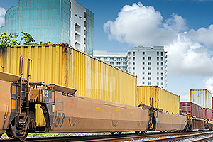 Amazon FBA First Route Railway in Europe